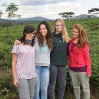 Daniela, Elena, Silvia e Celina