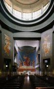 Fig. 10 – Marcello Piacentini, Tempio votivo del Sacro Cuore di Cristo re, Roma, Interno, 1934
