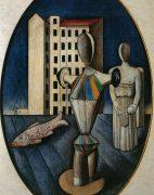 Fig. 6 – Carlo Carrà, L'ovale delle apparizioni, 1919, Roma, Galleria Nazionale di Arte Moderna