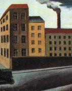 Fig. 8 Mario Sironi, Paesaggio urbano, 1921